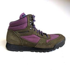 Merrell Eco Hike Plum Like New Hiking Boots